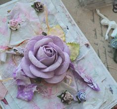 В НАЛИЧИИ!Нежная открыточка с большой розой  Прекра...