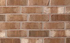 Brampton Brick's Tumbled Series clay bricks offer a unique appearance that mirrors the look of tumbled brick at a fraction of the cost Tile Floor, Clay, Manchester, Stone, Bricks, Roman, Clays, Rock, Batu