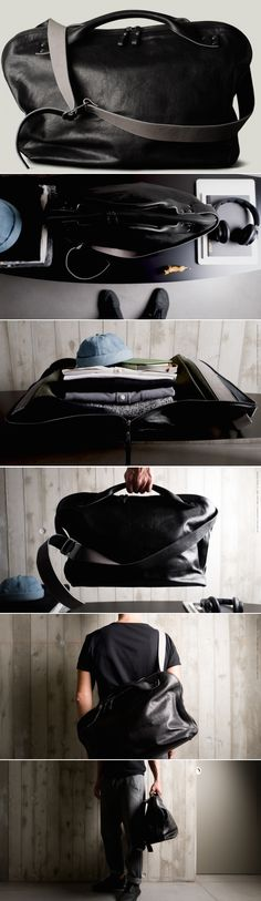 #hardgraft Offhand Shoulder Bag / Coal