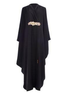 Malak Abaya Almost similar to what I wore on my wedding day :) mine's goldish