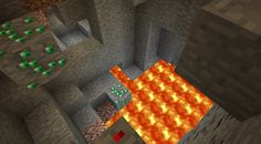 Emeralds and more emeralds! That's what this Minecraft PE seed has to offer. And, they're right below you when you spawn in this MCPE seed! Minecraft Pe Seeds, Emeralds, Gaming, Videogames, Emerald, Game