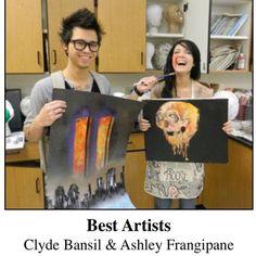 Halsey won best artist in high school, what a cutie