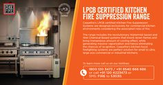 Generation Next Kitchen Fire Suppression Systems from Ceasefire are designed to knock down any kind of kitchen fire in seconds.