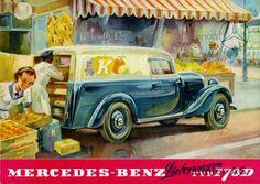 Mercedes-Benz Typ 170 Da / 170 Va Kasten-Lieferwagen