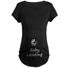 Baby Loading Maternity Funny T-Shirt