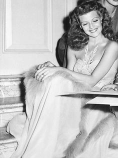 Rita Hayworth, she was just so beautiful