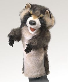 Take a look at this Raccoon Stage Puppet by Folkmanis on #zulily today!