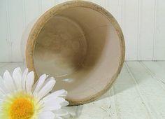 Vintage StoneWare Crock  Handy Sized Bisque Glaze by DivineOrders, $22.00