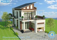 Modern House Floor Plans, 3d House Plans, Bungalow House Plans, Small House Plans, Modern Small House Design, Minimalist House Design, Dream Home Design, 3 Storey House Design, Two Storey House