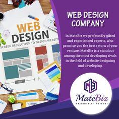 Visit #India's #best #web #design #company at matebiz.com