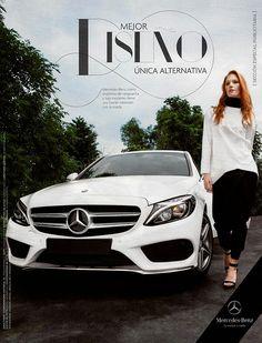 Kira Schon para Mercedes Benz en ELLE México por Ricardo Urroz!