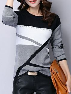 73c7b4f2 Buy Sweaters For Women from HOLA SARA at Chicloth. Online Shopping Casual  Knitted Long Sleeve Sweater, The Best Sweaters. Discover unique designers  fashion ...