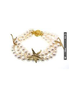 Freshwater Pearl Kai Bracelet | VIA #WEDDINGPINS.NET