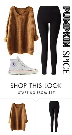 """Untitled #78"" by livianaelaine ❤ liked on Polyvore featuring Miss Selfridge and Converse"