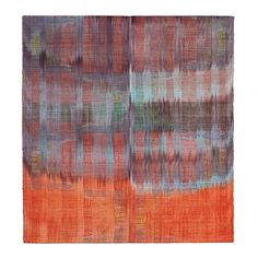 Polly Barton woven silk ikat paintings
