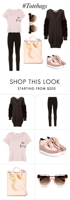 """at first blush"" by vkrene ❤ liked on Polyvore featuring IL by SAORI KOMATSU, BCBGMAXAZRIA, Wildfox, STELLA McCARTNEY, Sophie Hulme, Thierry Lasry, women's clothing, women's fashion, women and female"