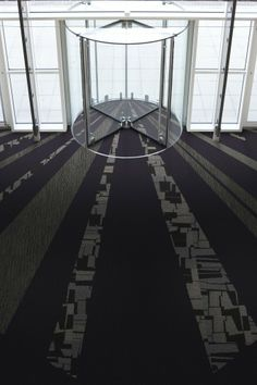 Interface Room. Carpet tiles collections:  Common Ground – Unity, Graphite , Lutetia, Tours and Monochrome, Storm
