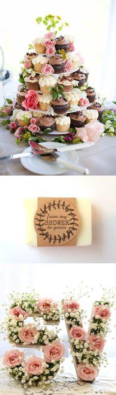 40 Soap Favors 1 oz Baby Shower Favors Bridal Shower Favors by Elaeis Spa Co. Lavender Mint Shea Butter