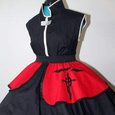 Fullmetal Alchemist Edward Elric Cosplay Skirt Dress Lolita Accessory | Darling Army