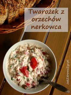 Twarożek z orzechów nerkowca Orzo, Oatmeal, Cooking, Breakfast, Happy, Food, The Oatmeal, Kitchen, Morning Coffee