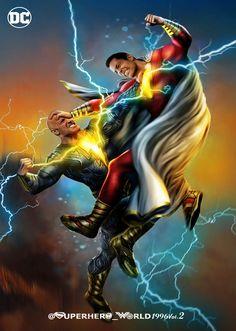 Shazam Comic, Captain Marvel Shazam, Marvel Heroes, Marvel Dc, Warner Studios, Dc World, Dc Rebirth, Arte Cyberpunk, Dc Comics Art