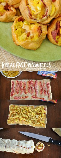 The kids LOVED these breakfast pinwheels!  I am shocked by how quickly they came together!  #warmtraditions #ad
