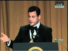 Jimmy Kimmel Hosts the 2012 White House Correspondents' Dinner - Dying right now