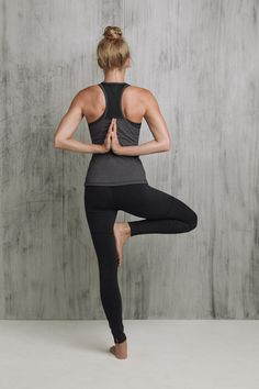 Find your tree pose in @lucyactivewear. #Yoga