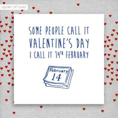 valentine's day card text message