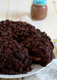 torta mimosa mascarpone e nutella gp Chocolate Recipes, Chocolate Cake, Biscotti, Sweet Recipes, Deserts, Good Food, Food And Drink, Sweets, Cookies