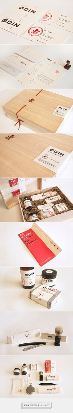 Ødin Packaging by Giang Nguyen on Behance | Fivestar Branding – Design and Branding Agency & Inspiration Gallery