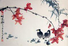 китайская живопись цветы и птицы картинки: 12 тыс изображений найдено в Яндекс.Картинках