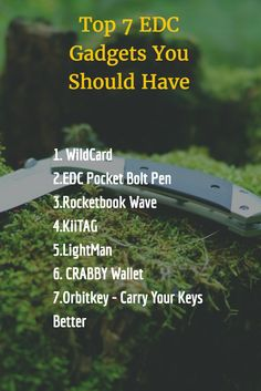 Top 7 EDC Gadgets You Should Have #Survival #EDC