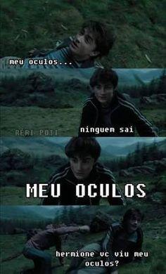 New Memes Brasileiros Harry Potter 57 Ideas Harry Potter Tumblr, Harry Potter Hermione, Draco, Memes Do Harry Potter, Remus Lupin, Hogwarts, Saga, Dragon Ball, Avengers