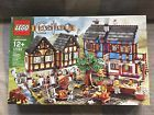 New LEGO Castle 10193 Medieval Market Village -Rare Exclusive HTF Sold out-