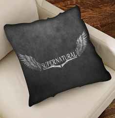 Supernatural Quote Logo Pillow For Pillow case  by CANGECOVER