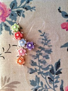 Knitting Stitch Markers  DITSY DAISIES by rosyretro on Etsy, £3.50