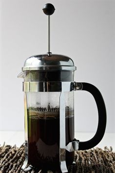 Learn 5 Ingenious ways for how to use a French press with step-by-step photos. You can do so much more than just make coffee! Coffee To Go, Coffee Plant, Coffee Is Life, Best French Press Coffee, Cuban Coffee, Fresh Coffee Beans, Fair Trade Coffee, Coffee Recipes, Beverages