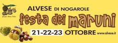 Alvese di Nogarole - Festa dei Maruni https://altissimonews.blogspot.it/2016/09/alvese-di-nogarole-festa-dei-maruni.html