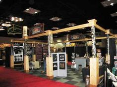 Custom Wooden Trade Show Booth