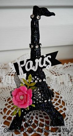 Eiffel tower craft on pinterest crafts easy crafts and for Paris themed crafts for kids