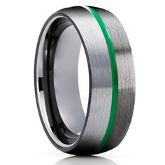 Green Tungsten Wedding Bands | Green Tungsten Wedding Rings – Page 2 – Clean Casting Jewelry Engraving Fonts, Laser Engraving, Tungsten Wedding Rings, Free Ring, Tool Steel, Tungsten Carbide, Black Enamel, Beautiful Rings