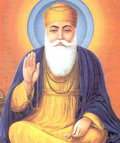 Indian guru   Guru Nanak - Guru Nanak Dev Ji - Sikh Guru Nanak - trust...patience...faith...purity