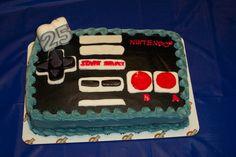Nintendo NES Controller Cake