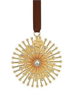 Kate Spade New York Bejeweled Starburst Ornament By Lenox