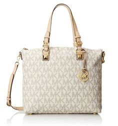 Top 5 Michael Kors signature handbags - MK logo tote, Michael Kors signature handbags tote bags for top designer handbags for women with style MK logo