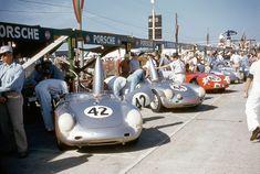 The Auto Spa Gallery — vanderbeer:   Porsches Grid (via luiscezar)