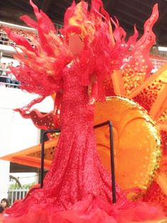 Figure Competition Suits, Top Backpacks, Monochrom, Global Warming, Headdress, Fire, Beautiful, Orange, Sun