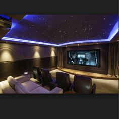 theatre room lighting ideas cool wonderful small home theater ideas home cinema with room large lcd on grey wall connected by black leather seat the carpet and purple sky ceiling 61 best led lighting ideas images in 2018 lights design