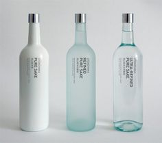 Otokoyama Sake, A Simple, Minimalist and Classy Sake Packaging on Vizeer.com